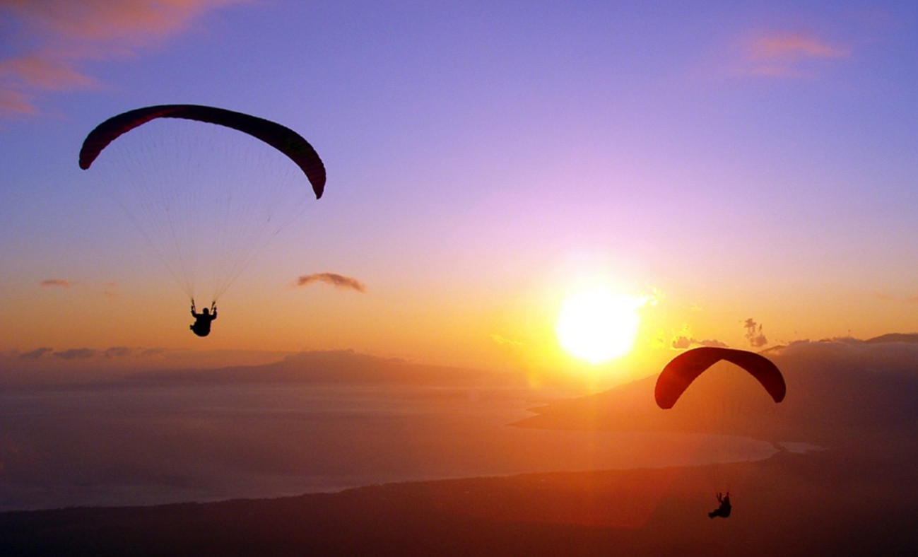 Paragliding iFly