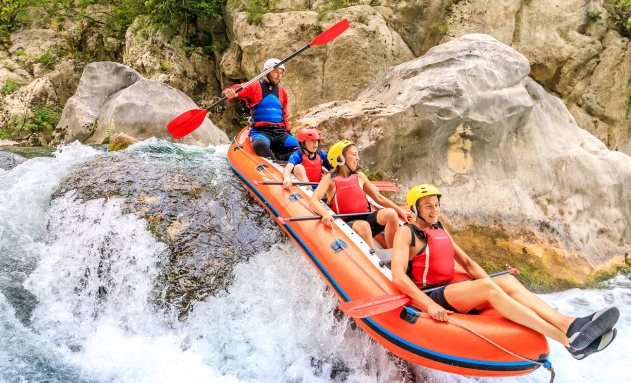 Extreme rafting – GO Adventure, Split